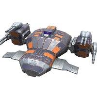 corvette fighter model