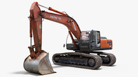 Hitachi zaxis 350h Mechanical excavator