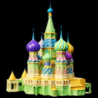 kremlin 3D model