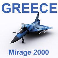 dassault mirage 2000 model