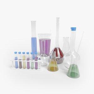 3D medical flask