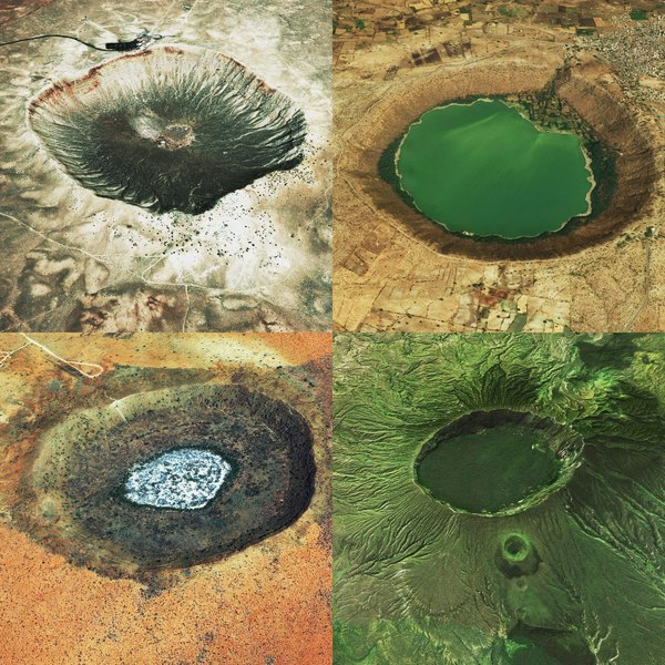 crater ground model