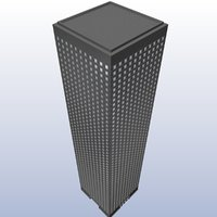 Low Poly Skyscraper