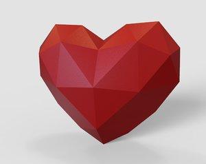 heart printing 3D model