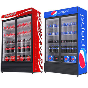 pepsi coca fridges model