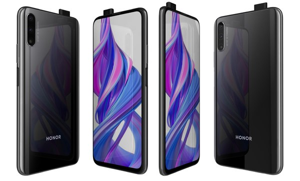 honor 9x magic night 3D model