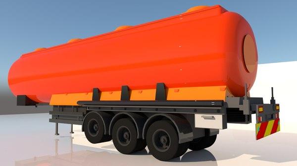 3D trailer fuel