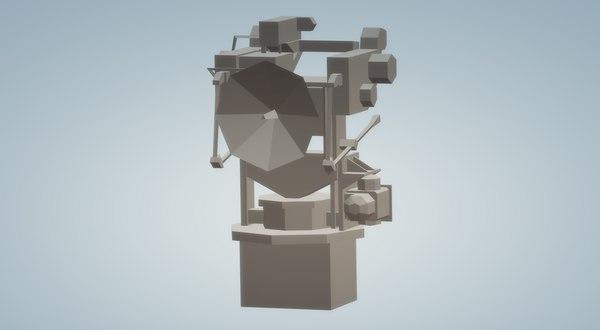 mark 52 anti aircraft 3D model
