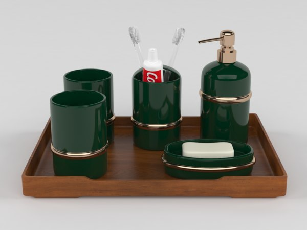 bath products 3D model