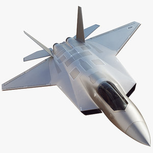 concept future turkish tf-x 3D model