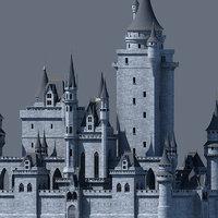 Fantasy Castle 002