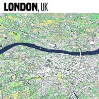 london uk england 3D