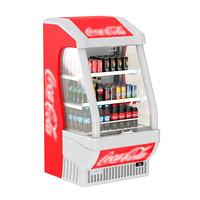 cola open display 3D model