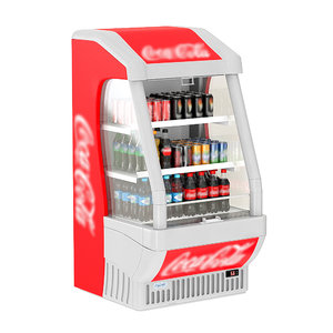 cola open display 3D model