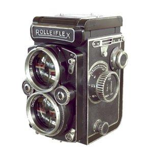 rolleiflex camera 3D