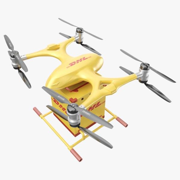 pbr drone 3D model