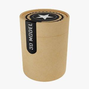 paper tube model