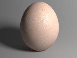 realistic eggs version ready model