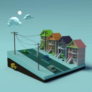 3D architecture transportation