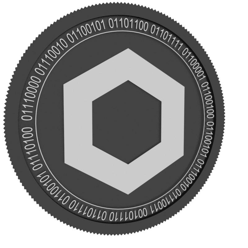 chainlink black coin