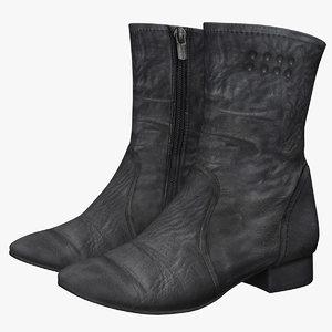 womens boot 3D model