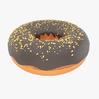 donut nuts 3D model