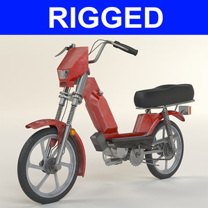 moped bike 3D model