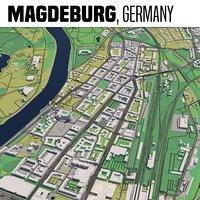 city magdeburg 3D model