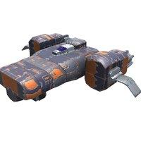 3D missile corvette