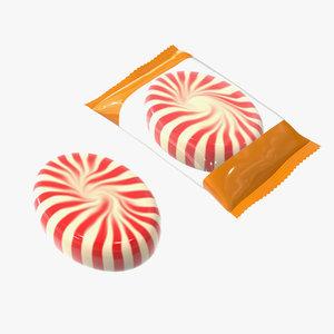 caramel package pack model