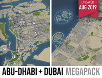 Abu Dhabi and Dubai - 2 cities