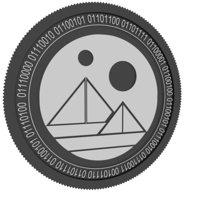 decentraland gold coin 3D model