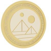 3D decentraland gold coin