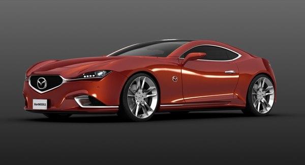 3D exterior concept car