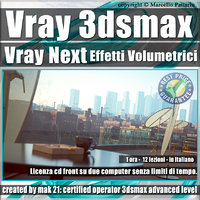 Corso Vray Next 3ds max Effetti Volumetrici Volume 10