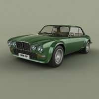 xj12c broadspeed 3D model