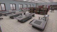 Grocery store - interior and props