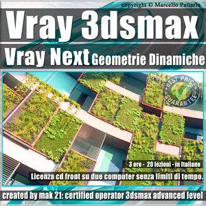 Corso Vray Next 3ds max Geometrie Dinamiche Volume 11