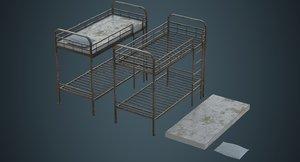 3D bunk bed 3b