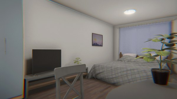 3D apartment - interior props