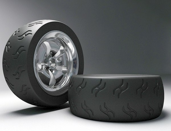 tyres radial 3D model
