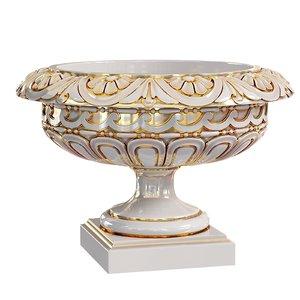 classic vase rosette urn model