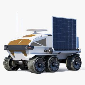 3D moon rover concept