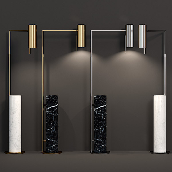 3D alma floor lamp model