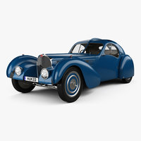 3D bugatti type 57sc