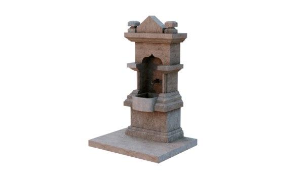 fountain ready model