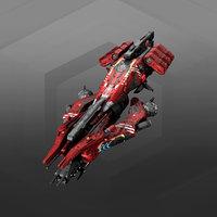 vehicle starship spacecraft 3D model