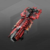 3D model dreadnought