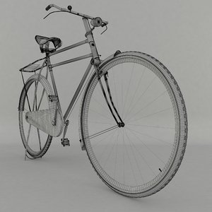 humber bicycle 3D model