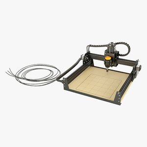 3D desktop cnc machine